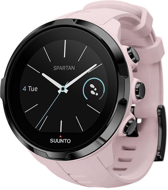 Часы спортивные Suunto Spartan Sport Wrist HR, цвет: розовыйALC-MB10-3CALRU1-1Suunto Spartan Sport Wrist HR — это продвинутые GPS-часы для мультиспорта с наручным пульсометром, цветным сенсорным экраном, водонепроницаемостью до 100 м и до 12 ч работы батареи в режиме тренировки. Spartan Sport поставляется с 80 предустановленными спортивными режимами с широким набором показателей по видам спорта. Отслеживайте свой прогресс и тренируйтесь с умом, опираясь на данные спортивного сообщества Suunto Movescount. Все часы Spartan Sport произведены вручную в Финляндии. ГОТОВЫ К СОРЕВНОВАНИЯМВодонепроницаемость до глубины 100 м / 300 фт Срок работы батареи 8 часов в режиме максимальной мощности и при частоте обновления GPS 1 c, обеспечивающей наивысшую точность Срок работы батареи 12 часов в режиме экономной работы при частоте обновления GPS 1 c, обеспечивающей хорошую точность Защищенный цветной сенсорный экран с тремя кнопками GPS/GLONASS для навигации по маршруту и определения расположенияследование маршруту в реальном времени с маршрутом и точками POIGPS используется для отслеживания набора или снижения высоты в тренировке Цифровой компас с компенсацией склонения ОПЫТ СПОРТИВНЫХ ДОСТИЖЕНИЙИзмерение пульса на запястье для максимального удобства Совместимы с датчиком Suunto Smart SensorПоддержка более 80 видов спорта в режимах соревнований и интервальной тренировки Режим триатлона и мультиспорта Настройка интервальных тренировок на часах Бег: таблица пройденных этапов со сведениями о темпе бега и частоте сердцебиения; точное измерение темпа с технологией FusedSpeed™ поддержка датчика Stryd для оценки затрат мощности при беге Велосипедная гонка: таблицы этапов в реальном времени с пульсом, мощностью и скоростью поддержка измерителей мощности Suunto Bike Sensor и BLE Плавание: автоматическое построение интервалов при плавании в бассейне сохранение данных о частоте сердцебиения (доп.) АНАЛИЗ ТРЕНИРОВОКТренировочная нагрузка: общие сведения о тренировках за 30 дней на часах долг
