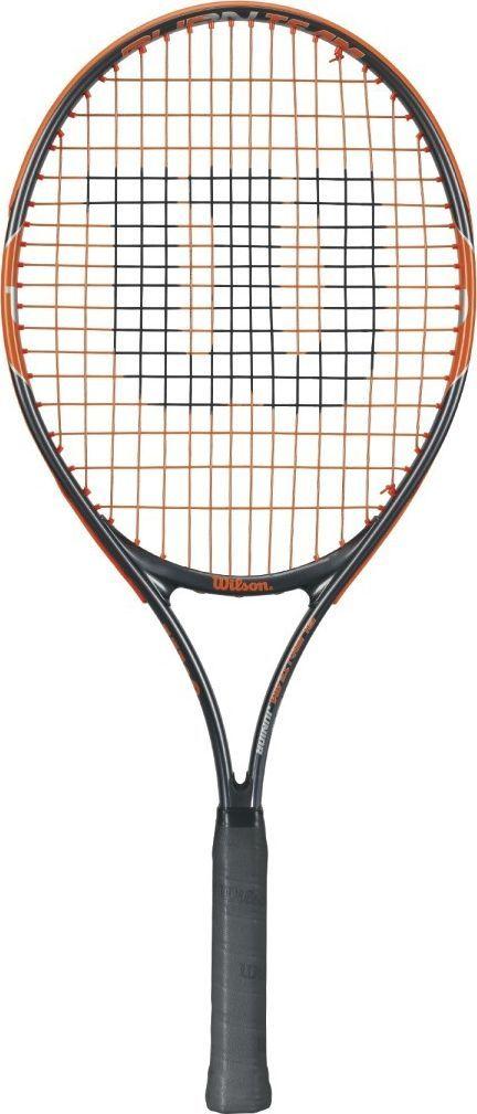 Теннисная ракетка Wilson Burn Team 25, детская332515-2800Ракетка Wilson Burn 25Team Jr ракетка для молодых теннисистов для ежедневных тренировок!Размер головы: 613 см2Вес: 225 гДлина: 25 в