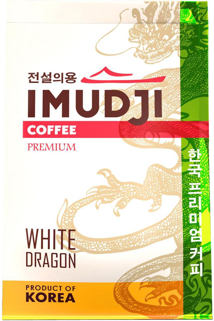 Imudji Green Dragon кофе растворимый, 100 г0120710Кофейный бленд, составленный из мексиканской арабики с добавлением 15% робусты из Индонезии. Крепкий сбалансированный вкус.
