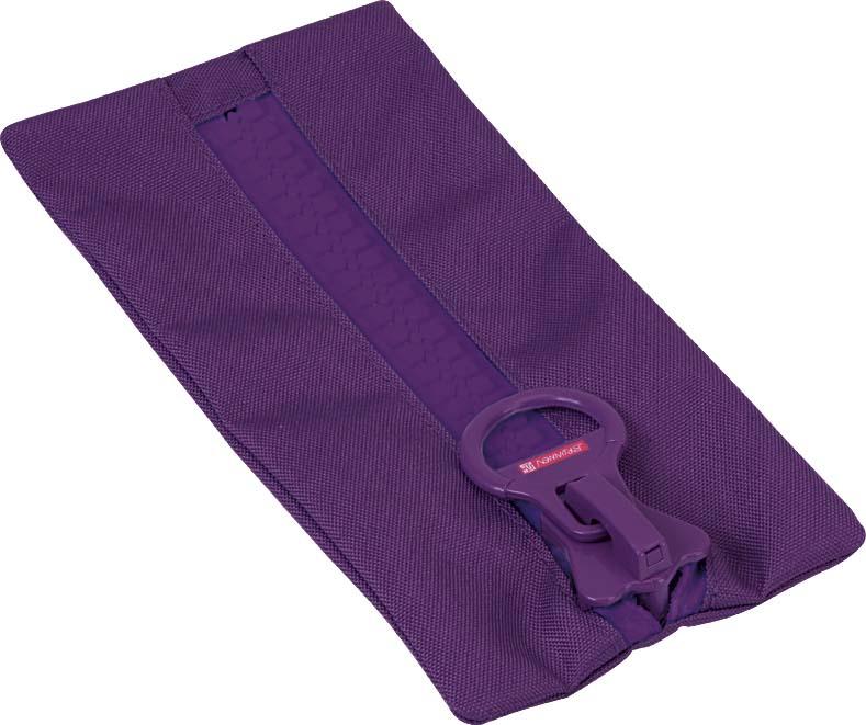 Brunnen BigZip Пенал на молнии цвет фиолетовый37493Размер: 23x12 см.Материал: ткань.Цвет: фиолетовый.
