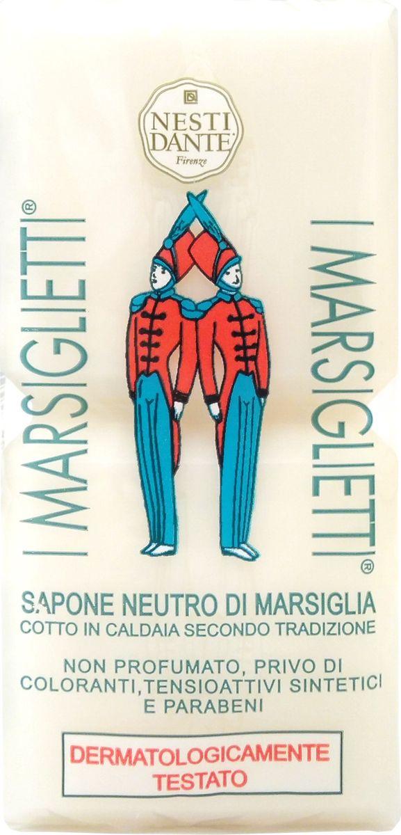 Nesti Dante Мыло I Marsiglietti Марсельское Традиционное, 200 гFA-8116-1 White/pinkМыло I Marsiglietti Neutro Di Marsiglia Soap от компании NESTI DANTE предназначено для ухода за кожей всех типов. Косметическое средство на 100% состоит из натуральных ингредиентов, не содержит синтетических веществ и отдушек