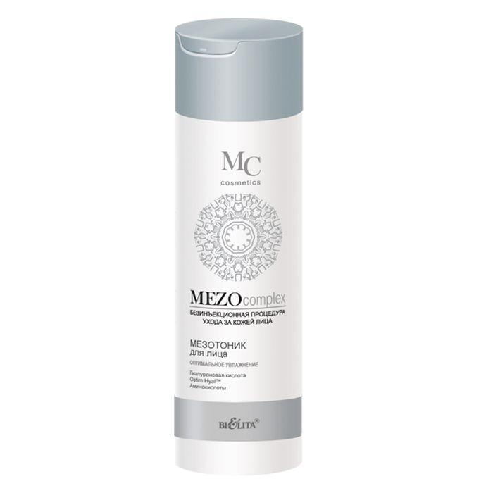 Белита Мезотоник для лица Оптимальное Увлажнение MEZOcomplex, 200 млFS-00897Мезотоник для лица завершает процесс очищения кожи, тонизирует, глубоко насыщает влагой и надолго задерживает ее внутри. Подготавливает кожу к эффективному воздействию косметических средств основного ухода.Optim Hyal ™ стимулирует синтез гиалуроновой кислоты, восстанавливает ее оптимальный баланс, повышает увлажненность кожи, увеличивает ее эластичность, плотность и упругость, уменьшает несовершенства и разглаживает морщины.Гиалуроновая кислота глубоко увлажняет кожу и удерживает влагу на поверхности, разглаживает морщины, повышает эластичность кожи и выравнивает ее тон.Коктейль из аминокислот (таурин, глицин, аргинин) наполняет клетки кожи энергией и жизненной силой, способствует клеточной регенерации.