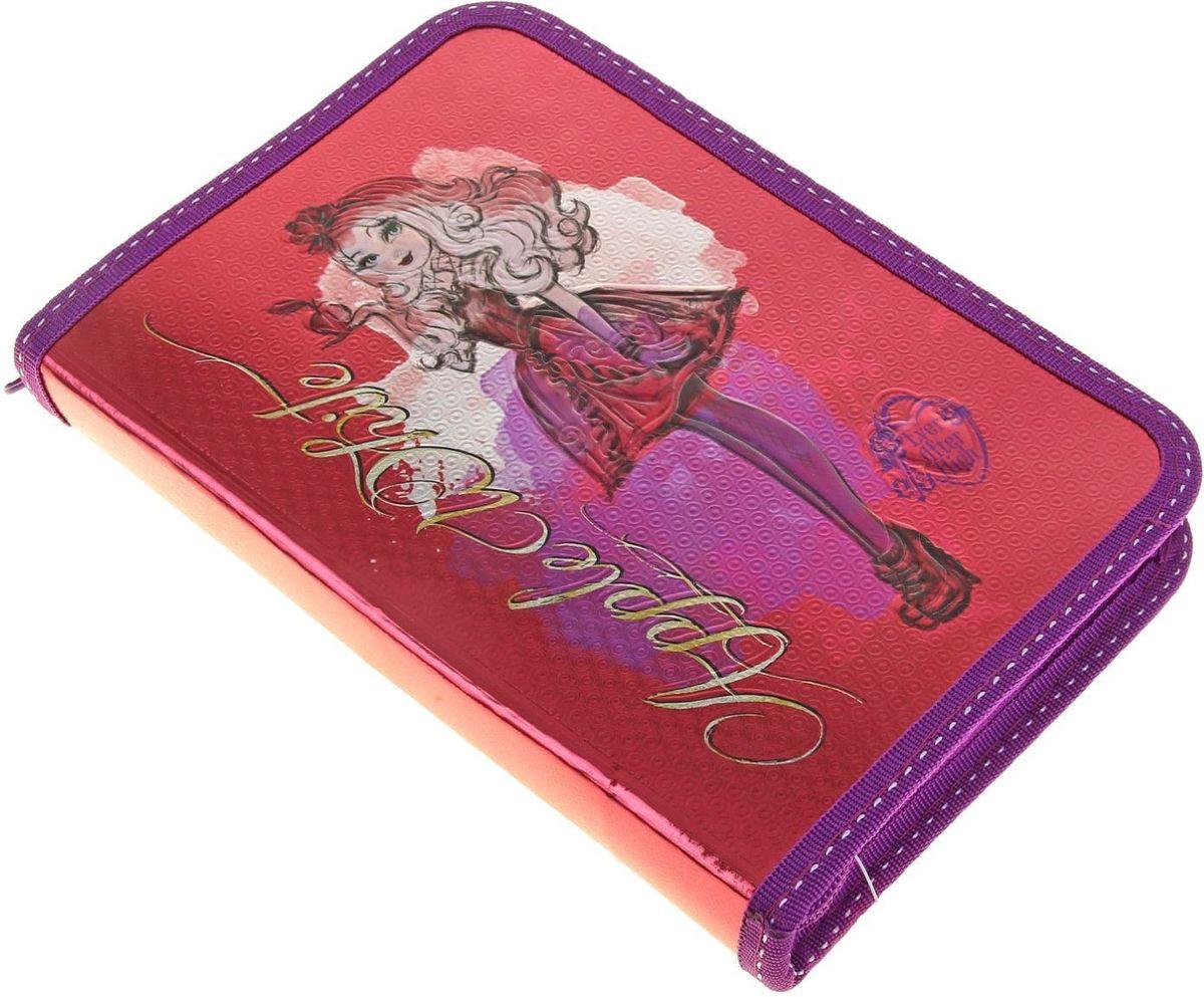 Ever After High Пенал цвет малиновый84701ОЯркий и весёлый пенал поможет вашему непоседе сохранять порядок у себя в рюкзаке и на письменном столе. С таким аксессуаром ваш юный школьник станет главным модником в классе!