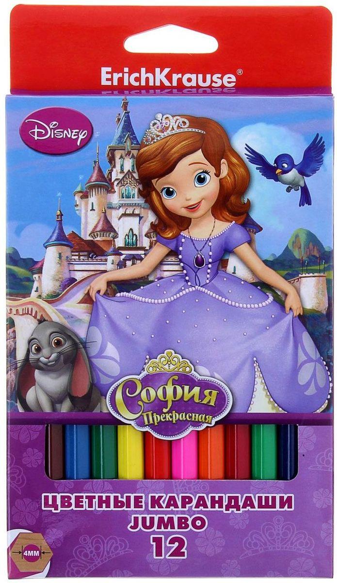 Disney Набор карандашей Принцесса София 12 цветовPP-220Изделия данной категории необходимы любому человеку независимо от рода его деятельности. У нас представлен широкий ассортимент товаров для учеников, студентов, офисных сотрудников и руководителей, а также товары для творчества.