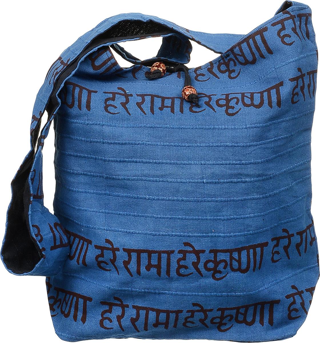 Сумка женская Ethnica, цвет: синий. 2041503-47670-00504Женская сумка Ethnica изготовлена из текстиля. Дополнена модель прочными удобными ручками и украшена тонкой вышивкой. Застегивается изделие на застежку-молнию.