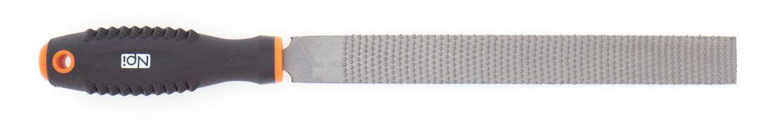 Рашпиль NPI HCS, по дереву, плоский, с двухкомпонентной ручкой, 200 ммCA-3505Рашпиль NPI по дереву плоский, размер 200мм, HCS, 2-х компонентная ручка.
