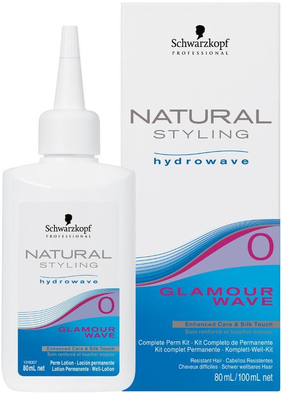 Natural Styling Glamour Комплект для химической завивки 0, 180 мл4605845001470НС Гламур комплект для химической завивки 0 для нормальных волос; состоит из лосьона и нейтрализатора.