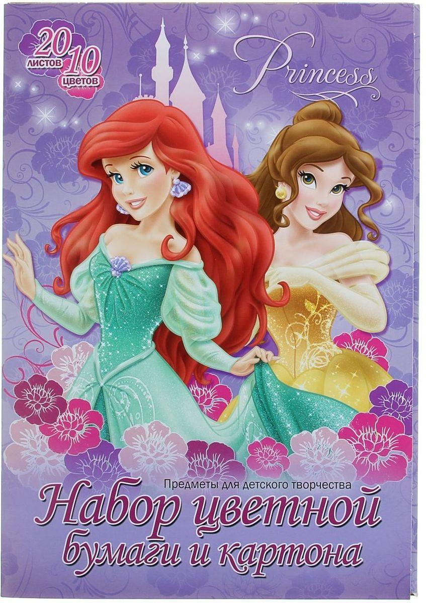 Disney Бумага цветная Принцессы 20 листов 10 цветов72523WDИзделия данной категории необходимы любому человеку независимо от рода его деятельности. У нас представлен широкий ассортимент товаров для учеников, студентов, офисных сотрудников и руководителей, а также товары для творчества.