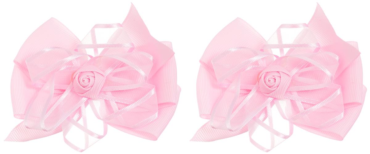 Babys Joy Резинка для волос цвет розовый с розочкой 2 шт MN 141/2Серьги с подвескамиРезинка для волос Babys Joy Бант выполнена в виде бантика из нескольких сплетенных вместе ленточек. Бантик декорирован текстильной розочкой в центре. Резинка позволит убрать непослушные волосы с лица и придаст образу немного романтичности и очарования.Резинка для волос Babys Joy подчеркнет уникальность вашей маленькой модницы и станет прекрасным дополнением к ее неповторимому стилю.