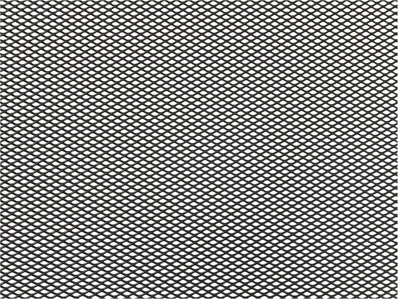 Решетка радиатора декоративная DolleX, 100 х 40 см, ячейки 6 х 3,5 мм, цвет: черный2706 (ПО)Облицовка радиатора (металлическая сетка декоративная) эффективно защищает элементы моторного отсека, радиатор системы охлаждения и кондиционирования автомобиля от камней, грязи и насекомых. Долговечная и легкомонтируемая. Придает индивидуальность автомобилю. Цвет: черный Размер сетки: 100 х 40 см Размер ячейки: 6мм х 3,5мм