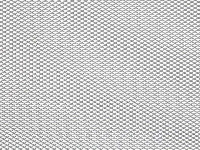 Решетка радиатора декоративная DolleX, 100 х 40 см, ячейки 6 х 3,5 мм, цвет: серебристый2706 (ПО)Облицовка радиатора (металлическая сетка декоративная) эффективно защищает элементы моторного отсека, радиатор системы охлаждения и кондиционирования автомобиля от камней, грязи и насекомых. Долговечная и легкомонтируемая. Придает индивидуальность автомобилю. Цвет: серебро Размер сетки: 100 х 40 см Размер ячейки: 6мм х 3,5мм
