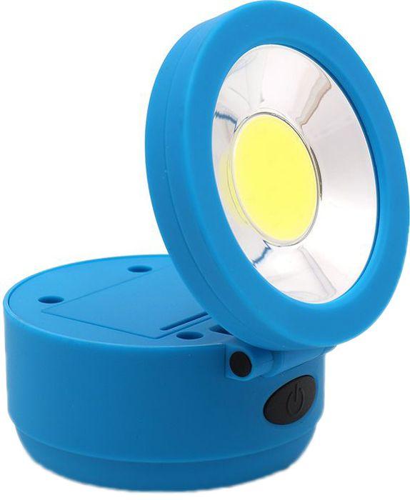 Фонарь инспекционный DolleX, 1хCOB (2W), магнит, крючок61/62/2- Супер яркий светодиод 2 W выполнен по технологии COB(Chip-On-Board) обеспечивает широкий и яркий луч света. - Крюк для повеса - Магнитный держатель - Регулируемый угол подвеса - Светодиод по технологии COB - Цветовая температура 7800К - Световой поток 150 люмен - Компактный размер 80х80х55мм - Корпус из ударопрочного ABS пластика - Питание: 3 батареи ААА в комплекте