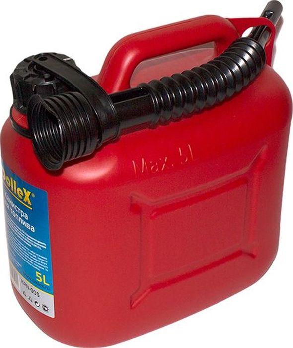 Канистра для топлива DolleX, с носиком, 5 л09840-20.000.00Предназначена для хранения и перевозки ГСМ. Разрешается хранить и транспортировать дизельное топливо, бензин и прочие технические жидкости. В комплект входит гибкий шланг для удобной заправки. Сертифицирована в соответствии с законом о пожарной безопасности РФ.Характеристики: Объем 5 л.; Материал ПЭНД