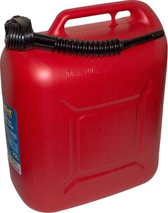 Канистра для топлива DolleX, с носиком, 20 лCA-3505Предназначена для хранения и перевозки ГСМ. Разрешается хранить и транспортировать дизельное топливо, бензин и прочие технические жидкости. В комплект входит гибкий шланг для удобной заправки. Сертифицирована в соответствии с законом о пожарной безопасности РФ.Характеристики: Объем 20 л.; Материал ПЭНД
