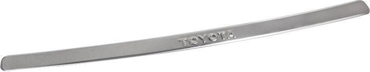 Накладка бампера декоративная DolleX, для TOYOTA Corolla (2006-2010)SC-FD421005Придают автомобилю стильный и неповторимый вид, эффективно защищает бампер от повреждения лакокрасочного покрытия.Отличительные особенности:- Полированная нержавеющая сталь;- Толщина стали 0,5 мм.;- Стильный внешний вид;- Легкая и быстрая установка;- Крепление лента липкая двухсторонняя.