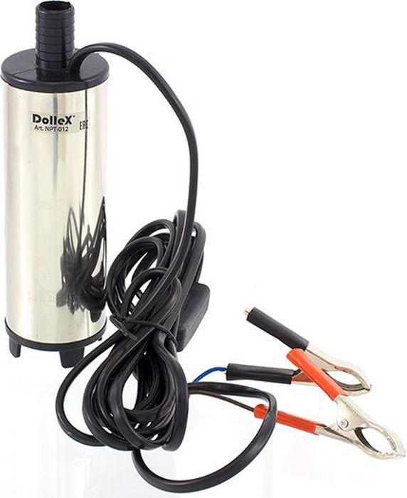 Насос перекачки топлива DolleX, для солярки, с фильтром, 12VAL-300- Напряжение: 12V- Производительность: 30 л/мин- Потребляемый ток: 6,4 А- Частота вращения дв.: 8500 об/мин- Провод: 0,5 м2 х 3 м- Длинна насоса: 13 см- Диаметр насоса: 51 мм- Диаметр выходного штуцера: 19 мм
