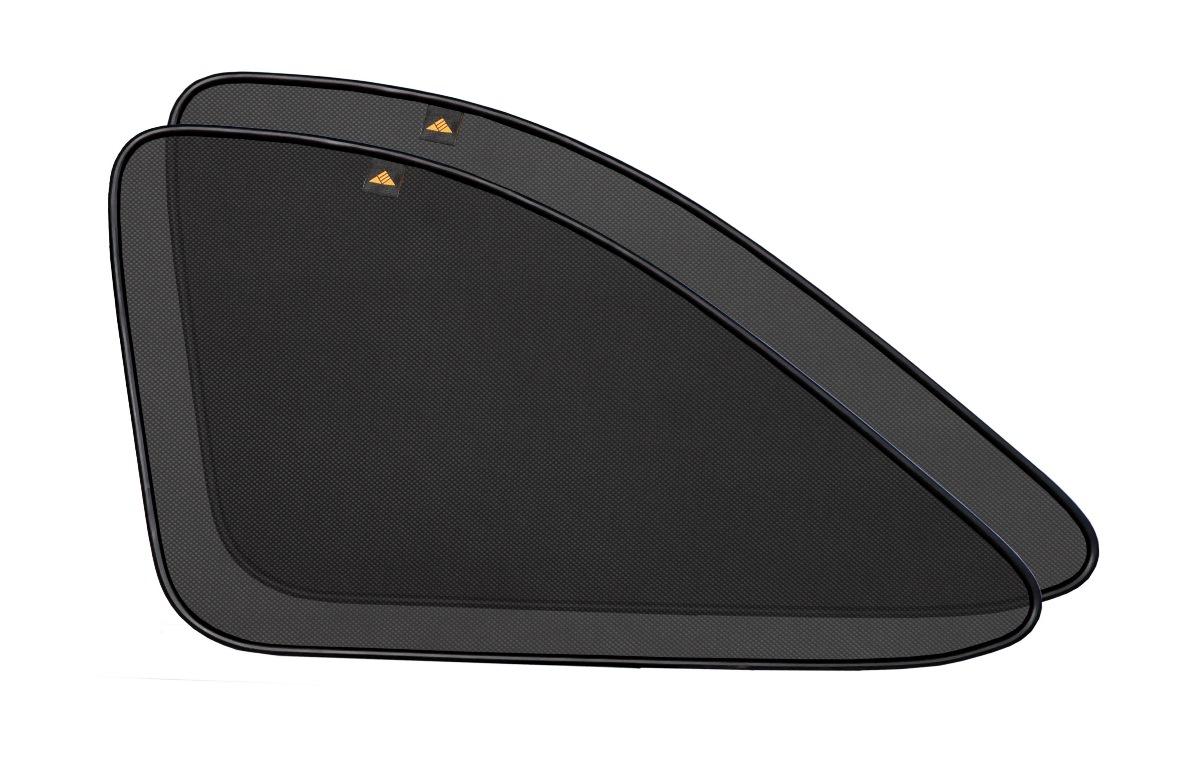 Набор автомобильных экранов Trokot для Hyundai Terracan (2001-2006), на задние форточкиSC-FD421005Каркасные автошторки точно повторяют геометрию окна автомобиля и защищают от попадания пыли и насекомых в салон при движении или стоянке с опущенными стеклами, скрывают салон автомобиля от посторонних взглядов, а так же защищают его от перегрева и выгорания в жаркую погоду, в свою очередь снижается необходимость постоянного использования кондиционера, что снижает расход топлива. Конструкция из прочного стального каркаса с прорезиненным покрытием и плотно натянутой сеткой (полиэстер), которые изготавливаются индивидуально под ваш автомобиль. Крепятся на специальных магнитах и снимаются/устанавливаются за 1 секунду. Автошторки не выгорают на солнце и не подвержены деформации при сильных перепадах температуры. Гарантия на продукцию составляет 3 года!!!
