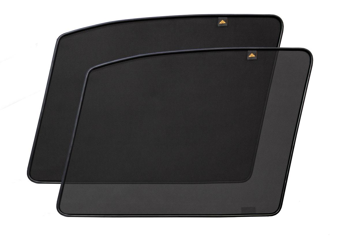 Набор автомобильных экранов Trokot для Hyundai Terracan (2001-2006), на передние двери, укороченныеSC-FD421005Каркасные автошторки точно повторяют геометрию окна автомобиля и защищают от попадания пыли и насекомых в салон при движении или стоянке с опущенными стеклами, скрывают салон автомобиля от посторонних взглядов, а так же защищают его от перегрева и выгорания в жаркую погоду, в свою очередь снижается необходимость постоянного использования кондиционера, что снижает расход топлива. Конструкция из прочного стального каркаса с прорезиненным покрытием и плотно натянутой сеткой (полиэстер), которые изготавливаются индивидуально под ваш автомобиль. Крепятся на специальных магнитах и снимаются/устанавливаются за 1 секунду. Автошторки не выгорают на солнце и не подвержены деформации при сильных перепадах температуры. Гарантия на продукцию составляет 3 года!!!