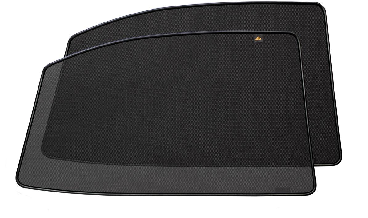 Набор автомобильных экранов Trokot для Volvo V40 2 (2012-наст.время), на задние двериVT-1520(SR)Каркасные автошторки точно повторяют геометрию окна автомобиля и защищают от попадания пыли и насекомых в салон при движении или стоянке с опущенными стеклами, скрывают салон автомобиля от посторонних взглядов, а так же защищают его от перегрева и выгорания в жаркую погоду, в свою очередь снижается необходимость постоянного использования кондиционера, что снижает расход топлива. Конструкция из прочного стального каркаса с прорезиненным покрытием и плотно натянутой сеткой (полиэстер), которые изготавливаются индивидуально под ваш автомобиль. Крепятся на специальных магнитах и снимаются/устанавливаются за 1 секунду. Автошторки не выгорают на солнце и не подвержены деформации при сильных перепадах температуры. Гарантия на продукцию составляет 3 года!!!