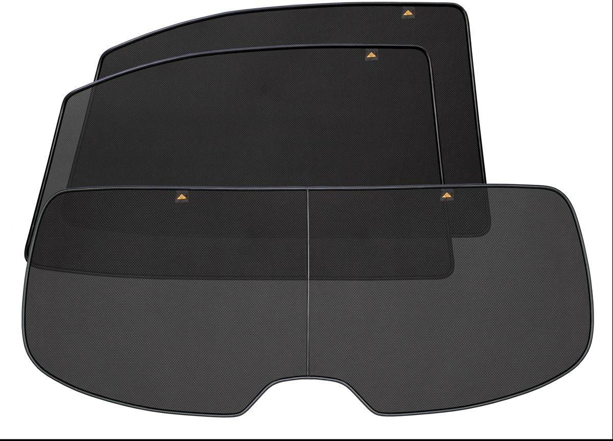 Набор автомобильных экранов Trokot для Mercedes-Benz E-klasse W211/S211 (2002-2009), на заднюю полусферу, 3 предметаVT-1520(SR)Каркасные автошторки точно повторяют геометрию окна автомобиля и защищают от попадания пыли и насекомых в салон при движении или стоянке с опущенными стеклами, скрывают салон автомобиля от посторонних взглядов, а так же защищают его от перегрева и выгорания в жаркую погоду, в свою очередь снижается необходимость постоянного использования кондиционера, что снижает расход топлива. Конструкция из прочного стального каркаса с прорезиненным покрытием и плотно натянутой сеткой (полиэстер), которые изготавливаются индивидуально под ваш автомобиль. Крепятся на специальных магнитах и снимаются/устанавливаются за 1 секунду. Автошторки не выгорают на солнце и не подвержены деформации при сильных перепадах температуры. Гарантия на продукцию составляет 3 года!!!
