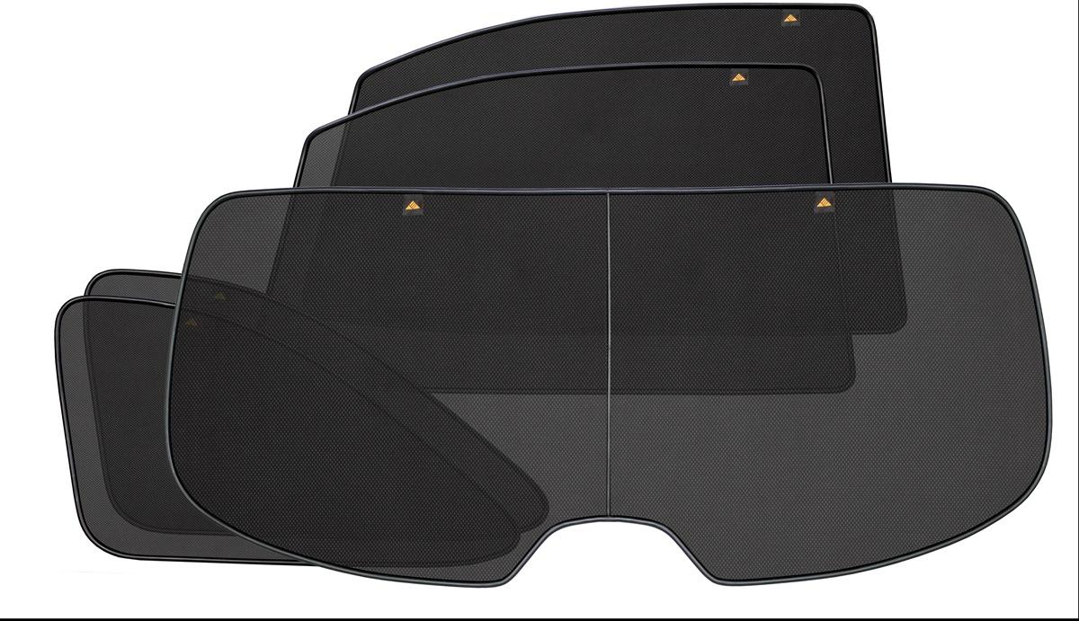 Набор автомобильных экранов Trokot для Nissan Murano 1 (Z50) (2002-2008), на заднюю полусферу, 5 предметовDFS-524Каркасные автошторки точно повторяют геометрию окна автомобиля и защищают от попадания пыли и насекомых в салон при движении или стоянке с опущенными стеклами, скрывают салон автомобиля от посторонних взглядов, а так же защищают его от перегрева и выгорания в жаркую погоду, в свою очередь снижается необходимость постоянного использования кондиционера, что снижает расход топлива. Конструкция из прочного стального каркаса с прорезиненным покрытием и плотно натянутой сеткой (полиэстер), которые изготавливаются индивидуально под ваш автомобиль. Крепятся на специальных магнитах и снимаются/устанавливаются за 1 секунду. Автошторки не выгорают на солнце и не подвержены деформации при сильных перепадах температуры. Гарантия на продукцию составляет 3 года!!!