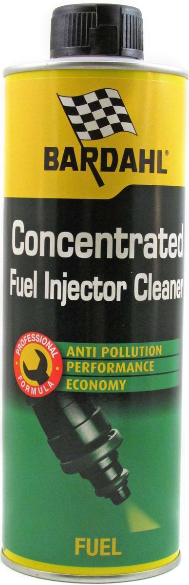 Присадка-очиститель топливная Bardahl Concentrated Fuel Injector Cleaner, для бензиновых двигателей, 500 млCA-3505Очиститель инжектора-новая 6-функциональная формула Bardahl Fuel Injector Cleaner специально разработана для решения проблем (провалы в ускорении, нестабильный холостой ход, затрудненный холодный старт, повышенный расход топлива, загрязнение), связанных с засорением топливной системы на всех типах старых и новых двигателей.