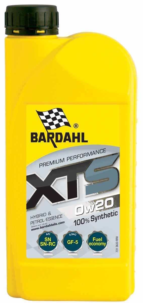 Масло моторное Bardahl XTS, синтетическое, 0W-20, 1 л6280LK100% синтетическое моторное масло изготовлено с применением последних технологий уменьшающих трение. Масло обладает большой моющей способностью и уменьшает расход топлива. Bardahl XTS 0W40 обладает высокой устойчивостью к сдвигу. Оно подходит для бензиновых и дизельных двигателей большой мощности а также, с прямым впрыском и турбонаддувом или без него. ACEA A3/B4 API SM/CF OEM BMW LL-01, MB 229.3, Porsche A40,VW 502.00/505.00, RN0700/0710
