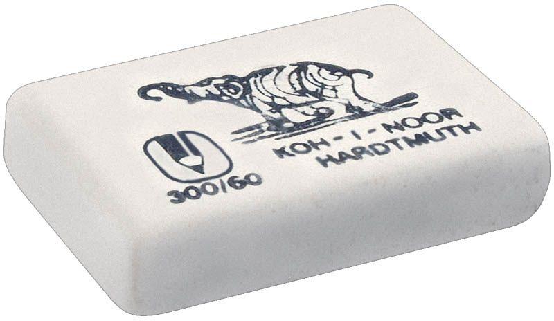 Koh-I-Noor Ластик Elephant 300/6072523WDЗнаменитый ластик Elephant - со слоном. Мягкий ластик для чернографитных карандашей и чернил. Не повреждает бумагу, обеспечивает чистое и аккуратное стирание. Идеально стирает следы мягких, средних и твердых карандашей на любой поверхности. Изготовлен из натурального каучука.