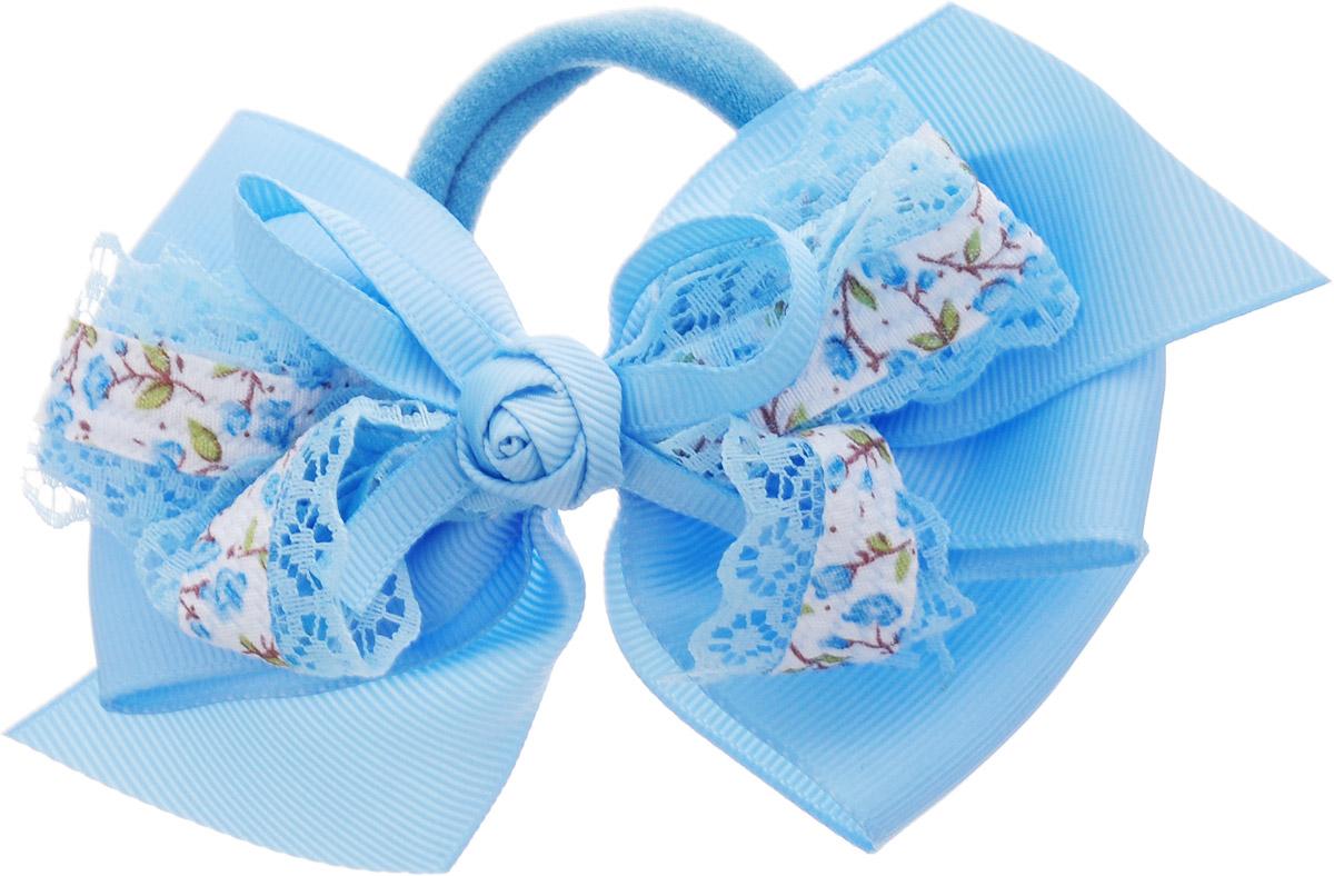 Babys Joy Резинка для волос Бант цвет голубой MN 1MP59.4DBabys Joy Резинка для волос Бант цвет голубой MN 1
