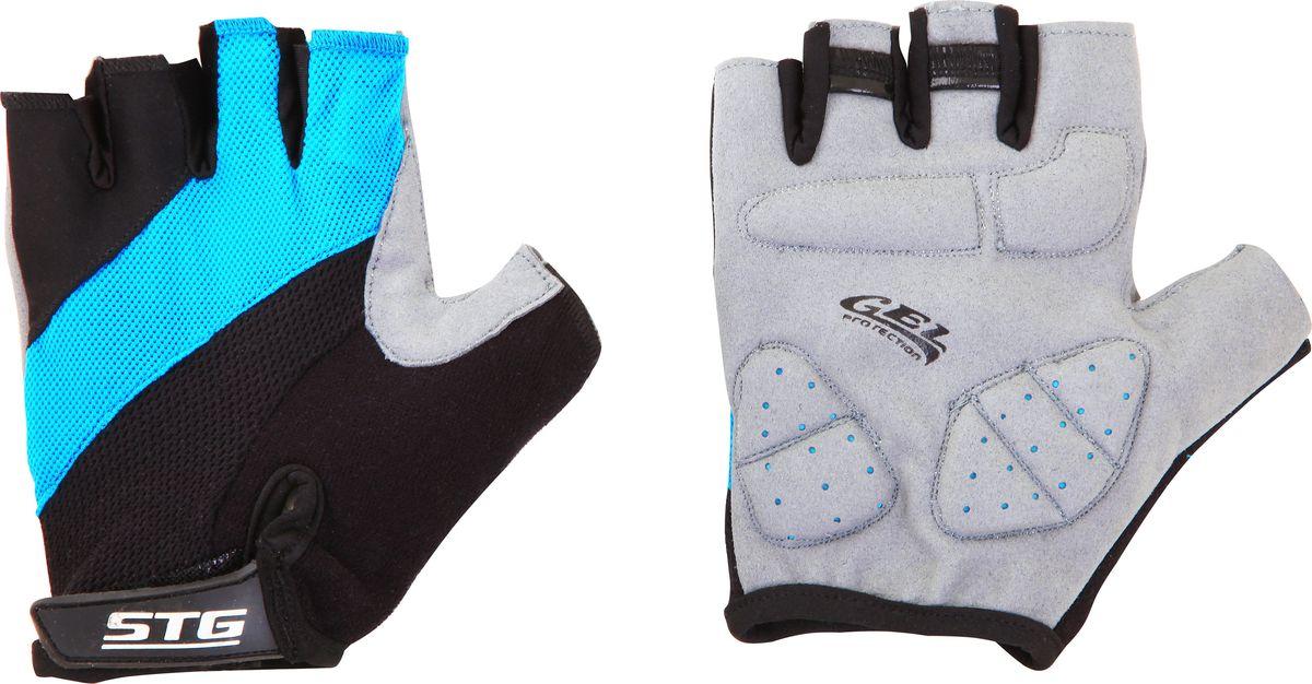 Перчатки велосипедные Stinger, летние, с защитной гелевой прокладкой. Размер SJSO-10304Перчатки летние быстросъемные из кожи и лайкры на липучке и с защитной гелевой прокладкой. Велосипедные перчатки STG обеспечат комфорт во время катания, гарантируя надежный хват за руль велосипеда, и обезопасят руки от ссадин при внезапном падении. Поставляются в индивидуальной упаковке. Для подбора перчаток необходимо измерить ширину ладони. Измерить ее можно линейкой или сантиметром по середине ладони от указательного пальца до мизинца. Соответствие ширины ладони перчаток: XS-6,5 см, S-7,5см, M-8,5см, L-9,5см