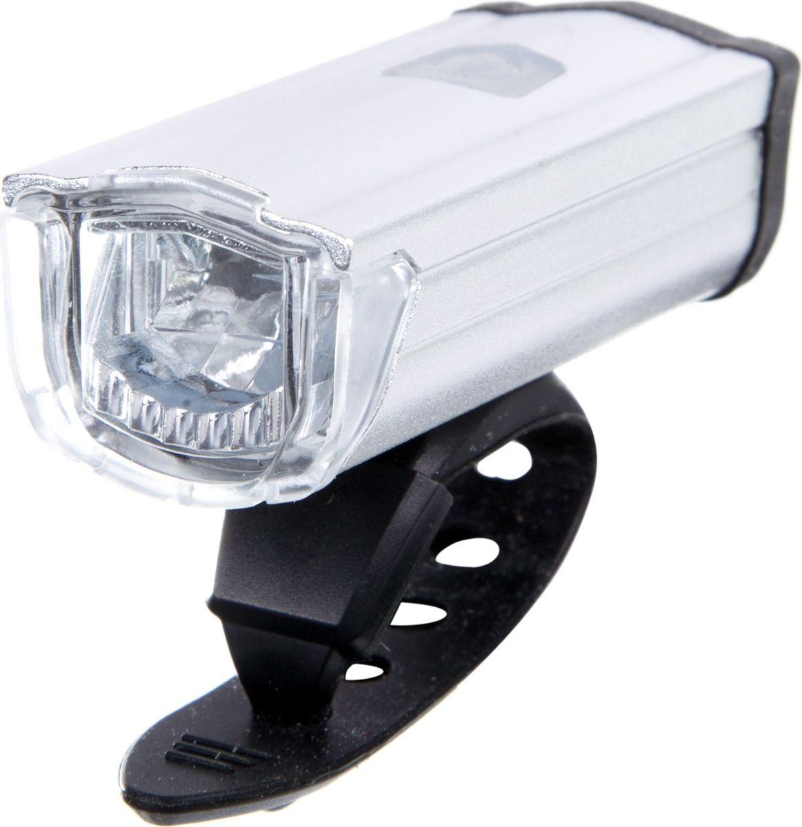 Фонарь велосипедный STG JY7040, передний, USB, 3.7V/550mAh, цвет: серебристыйMW-1462-01-SR серебристыйЛегкий и компактный передний фонарь в алюминиевом корпусе с USB зарядкой. Экономичное потребление энергии для долгой работы. Встроенный аккумулятор 3.7V/550mAh.