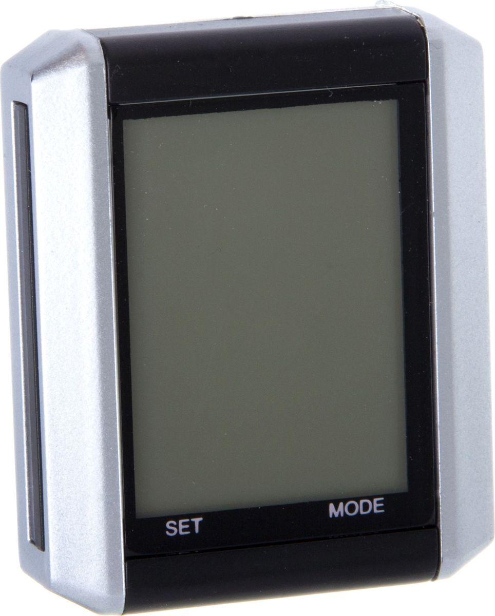 Велокомьютер STG JY-4012E-W, беспроводной, 15 функцийMW-1462-01-SR серебристыйВелокомпьютер поможет составить оптимальную программу велотренировок. С его помощью вы легко сможете отслеживать скорость, пробег и многое другое. Данная модель беспроводная и поддерживает 15 различных функций.