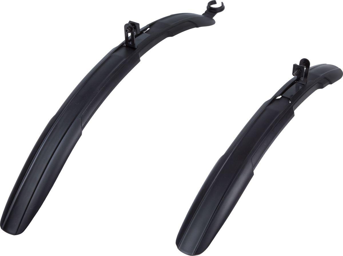 Комплект крыльев STG HL-806, широкие, для колес 26-28MW-1462-01-SR серебристыйПластиковые крылья предназначены для горных велосипедов и уберегут вас от грязи и брызг из под колес. Крылья предназначены для велосипедов с диаметром колеса от 26 до 28.
