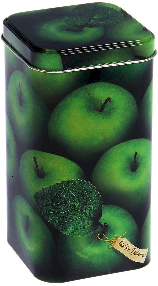 Банка для сыпучих продуктов Рязанская фабрика жестяной упаковки Яблоки зеленые, 1,4 лVT-1520(SR)Металлическая банка - лучший способ сохранить крупы и травы, чай и кофе в наилучшем состоянии.- Изделия от Рязанской фабрики жестяной упаковки радуют потребителей уже долгие годы. Чем хороша именно эта банка?- Плотная крышка предохраняет содержимое от высыпания.- Защита от солнечного света продлевает срок годности продуктов.- Яркий дизайн добавит свежую нотку в оформление кухни.- Банка может быть использована для хранения мелких хозяйственных предметов.Наводите порядок на кухне со вкусом!