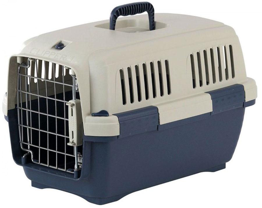 Переноска для животных Marchioro Tortuga 2, цвет: синий, бежевый, 57 х 37 х 36 см0120710Переноска с боковой дверцей Marchioro Tortuga 2, выполненная из прочного пластика, прекрасно подойдет для транспортировки собак и кошек. Дно переноски усилено. Переноска оснащена крышкой с отверстиями для вентиляции. Прочная металлическая дверь запирается на нержавеющий замок типа клиппер. Для удобной переноски имеется ручка на крышке. Переноска быстро и легко собирается. Предназначена для животных весом 4-15 кг. Переноска соответствует стандартам Международной ассоциации воздушного транспорта (IATA), что позволяет использовать ее для перевозки животного в самолете. Вес животного: 4-15 кг.