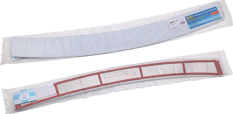 Накладка бампера декоративная DolleX, для MAZDA 6 (2012-2014)SC-FD421005Придают автомобилю стильный и неповторимый вид, эффективно защищает бампер от повреждения лакокрасочного покрытия.Отличительные особенности:- Полированная нержавеющая сталь;- Толщина стали 0,5 мм.;- Стильный внешний вид;- Легкая и быстрая установка;- Крепление лента липкая двухсторонняя.