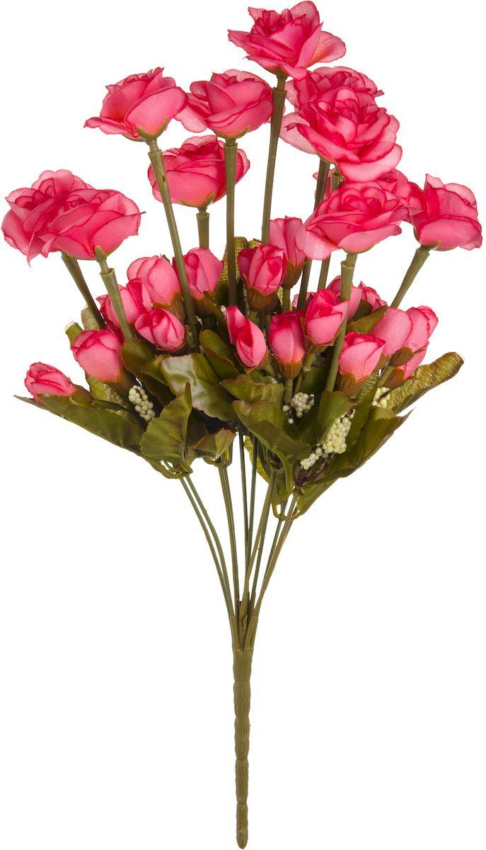 Цветы искусственные Engard Роза кустовая, 42 см. B-YI-10роз19201Искусственные цветы Engard - это популярное дизайнерское решение для создания природного колорита и индивидуальности в интерьере. Кустовые розы высотой 42 см выглядят довольно реалистично, нежно и являются достойной альтернативой натуральным цветам. Розы имеют идеально собранную форму. Не требует постоянного ухода.