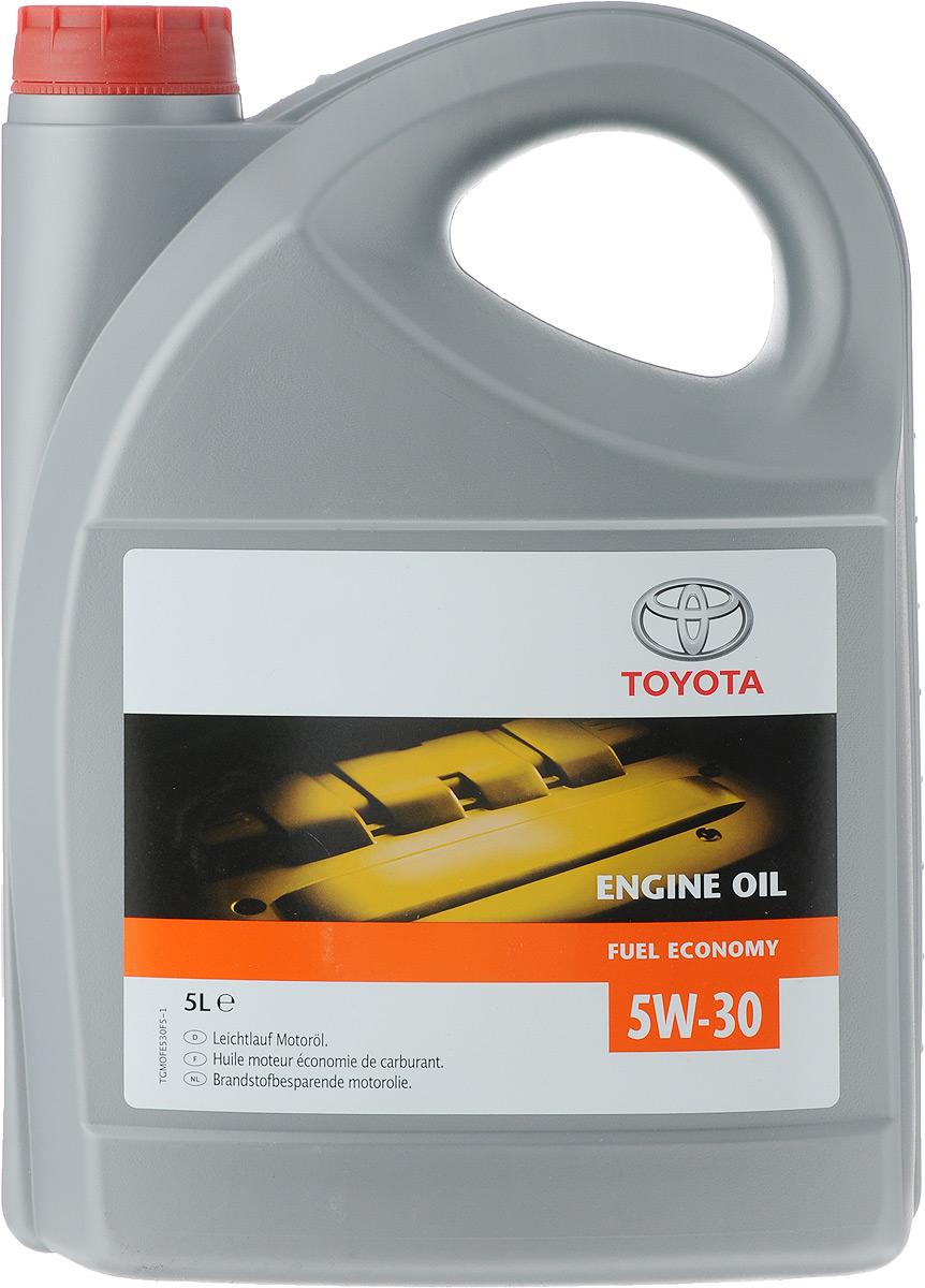 Моторное масло Toyota, клас вязкости 5W30, 5 лCA-3505Имеет энергосберегающие характеристики; способствует экономии топлива; состоит из тщательно отобранной, химически;модифицированной масляной основы и присадок, повышающих эффективность работы двигателя; обеспечивает оптимальные защитные свойства масла; облегчает холодный запуск двигателя