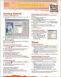 Quick Source. Corel WordPerfect 8.0 Quick Source Guide