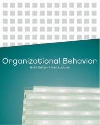 Fred Luthans Organizational Behavior bonnie j ploger exploring animal behavior in laboratory and field