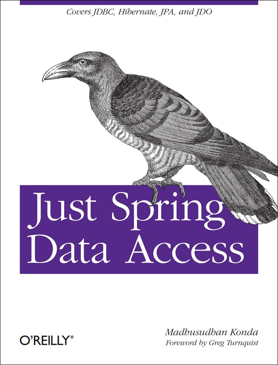 Konda. Just Spring Data Access