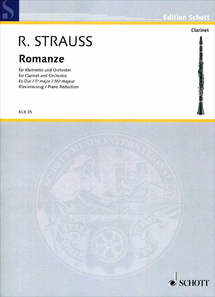 Richard Strauss Richard Strauss: Romanze Es-Dur fur klarinette und orchester richard strauss karl bohm salome