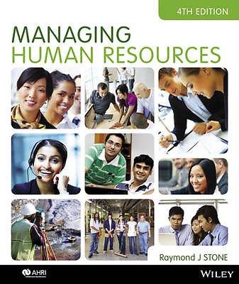 Raymond J. Stone. Managing Human Resources 4E iStudy Version 1 Registration Card