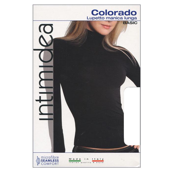 ВодолазкаT-Shirt Colorado NeroЖенская водолазка Colorado с длинным рукавом и воротником-стойкой выполнена из микрофибры, она очень мягкая на ощупь, не раздражает даже самую нежную и чувствительную кожу. Водолазка очень удобна в использовании, ее можно носить как с брюками, так и с юбкой. Отличный вариант для повседневной носки!