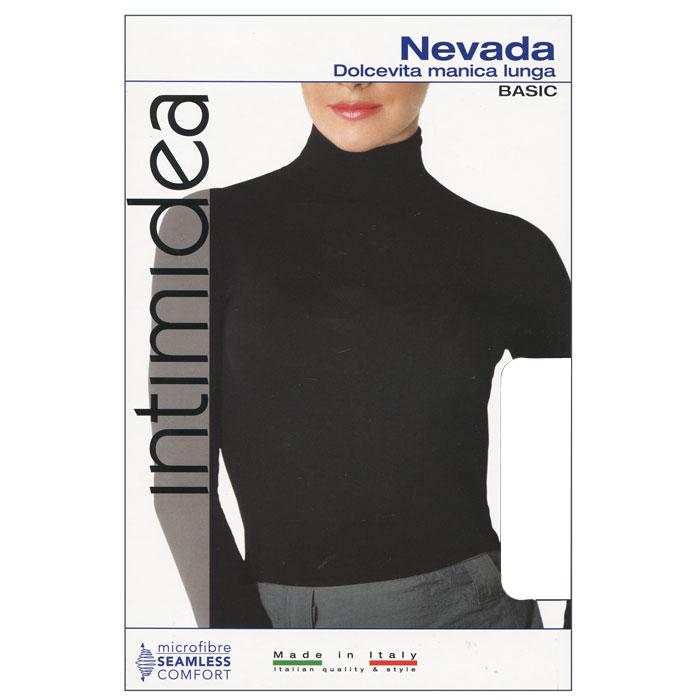 ВодолазкаIN-T-Shirt Nevada BiancoЖенская водолазка Nevada с длинным рукавом выполнена из микрофибры, она очень мягкая на ощупь, не раздражает даже самую нежную и чувствительную кожу. Водолазка очень удобна в использовании, ее можно носить как с брюками, так и с юбкой. Отличный вариант для повседневной носки!