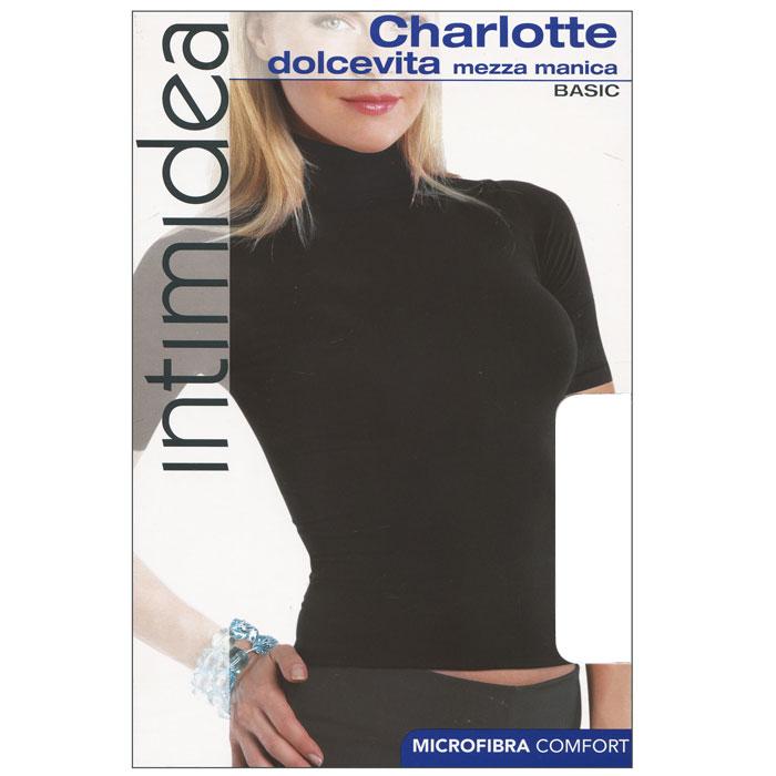 ВодолазкаT-Shirt Barcellona NeroЖенская водолазка Charlotte с коротким рукавом и воротником-стойкой выполнена из микрофибры, она очень мягкая на ощупь, не раздражает даже самую нежную и чувствительную кожу. Водолазка очень удобна в использовании, ее можно носить как с брюками, так и с юбкой. Отличный вариант для повседневной носки!