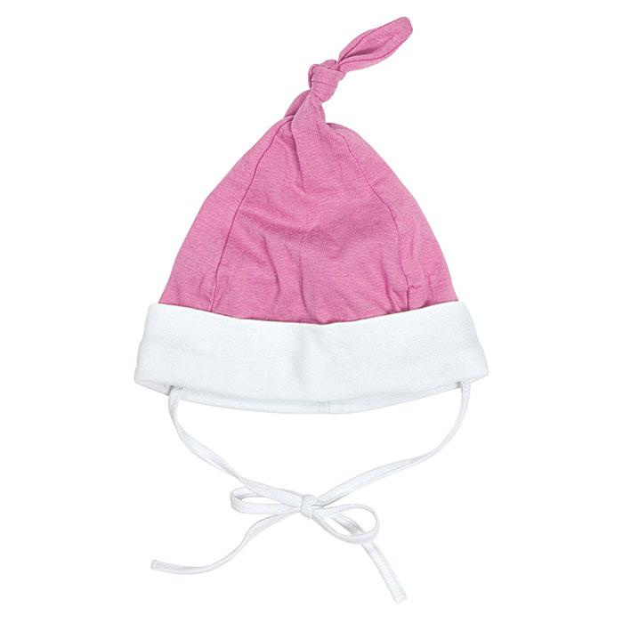 Шапка детская Курносики, цвет: розовый. 3093012. Размер 483093012Комфортная шапочка Курносики идеально подойдет для прогулок в прохладное время года, она защитит ушки вашего малыша от сильного ветра. Шапочка изготовлена из натурального хлопка, благодаря чему она необычайно мягкая и легкая, не раздражает нежную кожу ребенка и хорошо вентилируется, а эластичные швы приятны телу малыша и не препятствуют его движениям. Изделие обладает особой мягкостью, так как произведено по специальной технологии Safe Inside.Шапка с отворотом контрастного цвета сверху оформлена декоративным узелком. На ушках имеются завязки, с помощью которых шапку можно зафиксировать под подбородком. В такой шапочке ваш ребенок будет чувствовать себя уютно и комфортно!