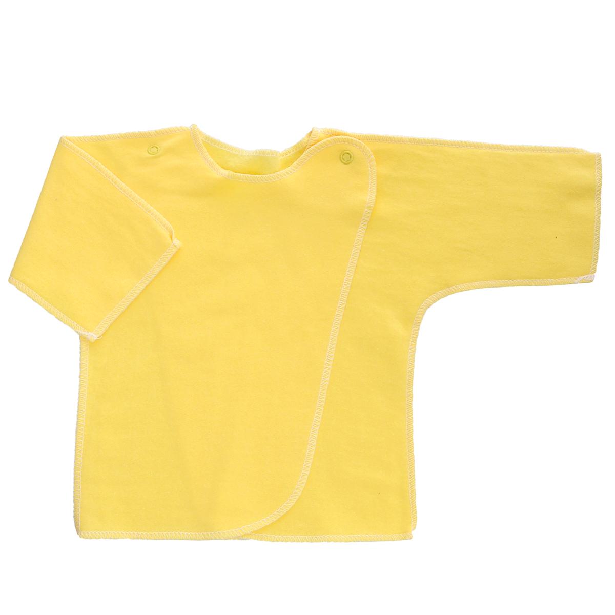 Распашонка5022Распашонка Трон-плюс послужит идеальным дополнением к гардеробу младенца. Распашонка с рукавами-кимоно, выполненная швами наружу, изготовлена из футера - натурального хлопка, благодаря чему она необычайно мягкая и легкая, не раздражает нежную кожу ребенка и хорошо вентилируется, а эластичные швы приятны телу малыша и не препятствуют его движениям. Распашонка с запахом, застегивается при помощи двух кнопок на плечах, которые позволяют без труда переодеть ребенка. Распашонка полностью соответствует особенностям жизни ребенка в ранний период, не стесняя и не ограничивая его в движениях.