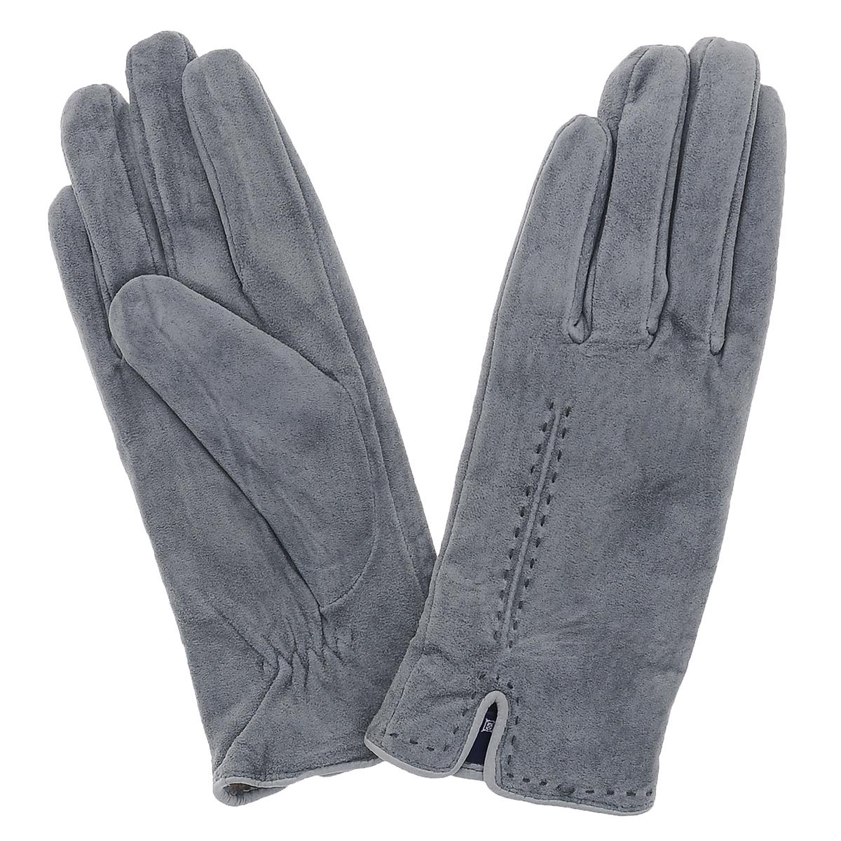 ПерчаткиSP11_ALINAСтильные перчатки Dali Exclusive с шерстяной подкладкой выполнены из мягкой и приятной на ощупь натуральной замши. Лицевая сторона оформлена декоративными стежками и дополнена небольшими разрезами. Такие перчатки подчеркнут ваш стиль и неповторимость и придадут всему образу нотки женственности и элегантности.