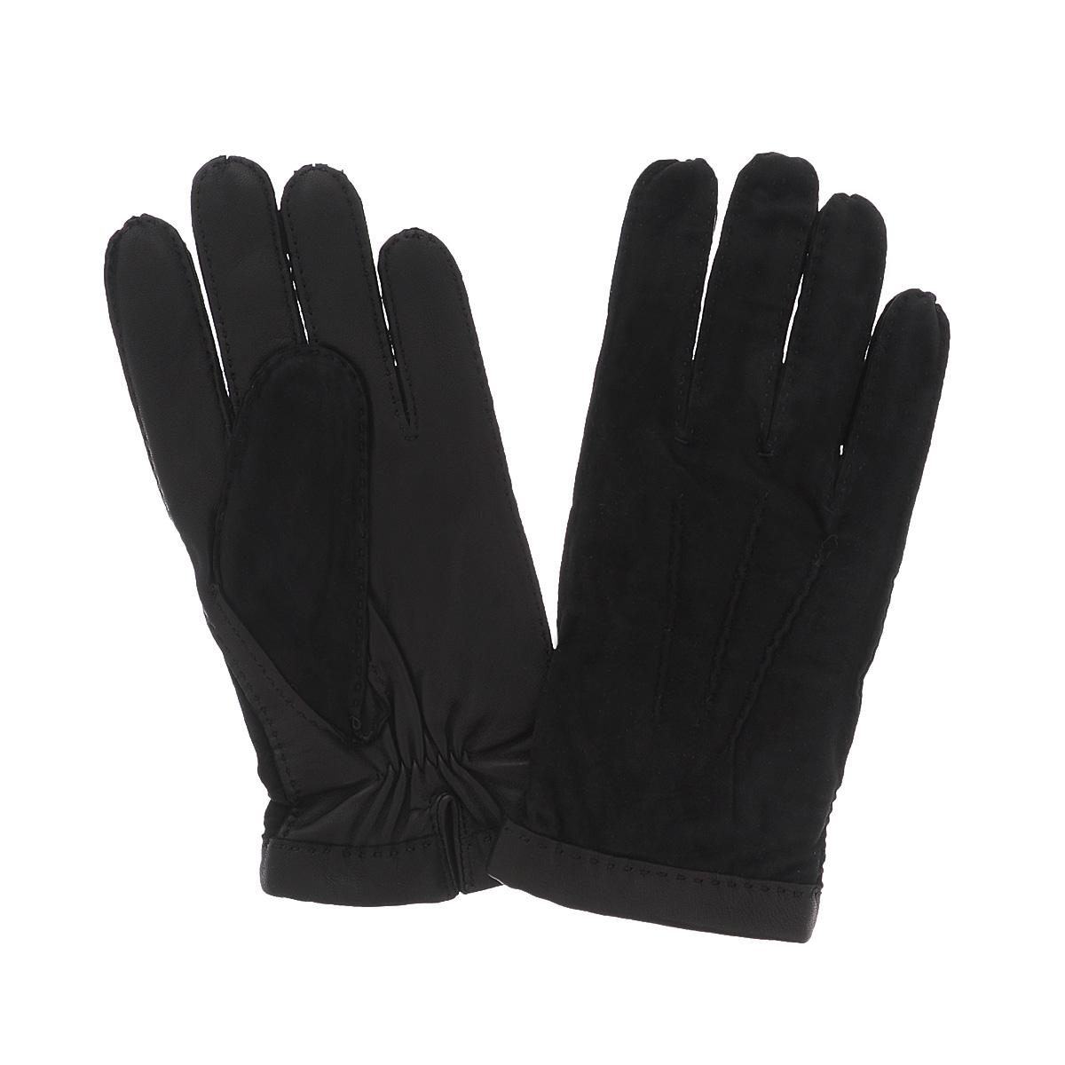 Перчатки мужские Dali Exclusive, цвет: черный. SL16_BERLIN/BL. Размер 9,5SL16_BERLIN/BLСтильные мужские перчатки Dali Exclusive не только защитят ваши руки, но и станут великолепным украшением. Лицевая сторона перчаток выполнена из чрезвычайно мягкой и приятной на ощупь натуральной замши, оборотная - из кожи ягненка, а их подкладка - из шерсти. Перчатки оформлены декоративными стежками. Манжеты под большим пальцем собраны на резинку. Модель благодаря своему лаконичному исполнению прекрасно дополнит образ любого мужчины и сделает его более стильным, придав тонкую нотку брутальности. Создайте элегантный образ и подчеркните свою яркую индивидуальность новым аксессуаром!